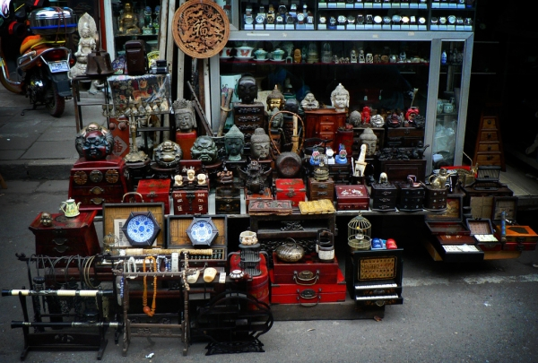 Dongtai Lu Antique Market - find