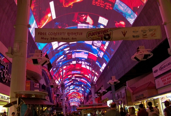 Fremont Street Experience - find
