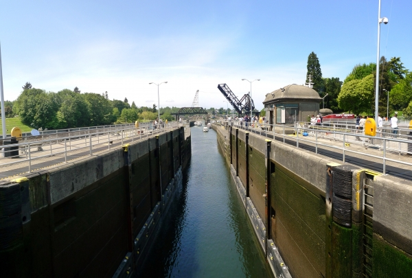 Hiram M. Chittenden Locks - find