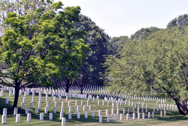 Arlington National Cemetery - find