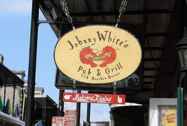 Johnny White's - find